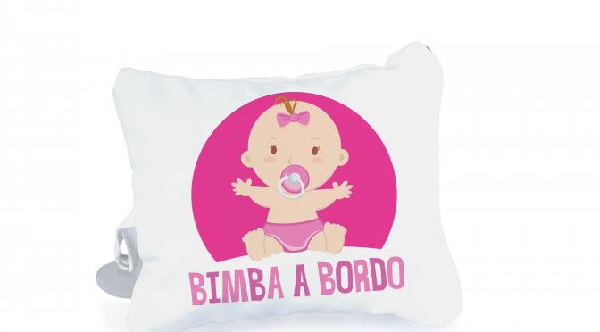 Mini cuscino con ventosa personalizzato