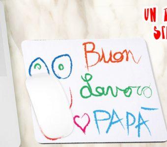 Disegna il tappetino per il mouse e regalalo per la festa del papà!