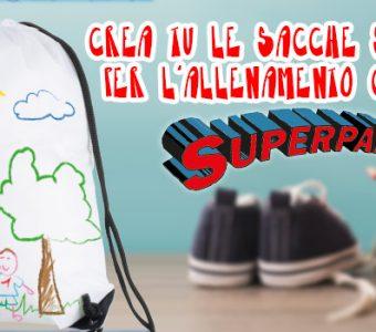 Festa del papà: disegna tu la sacca sportiva per il tuo papà!